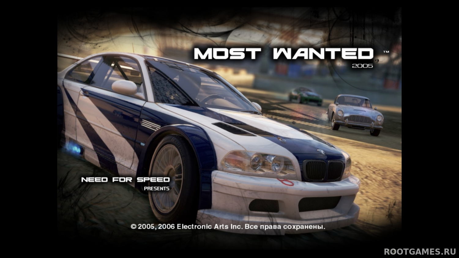 NFS Most Wanted Modern Rockport II