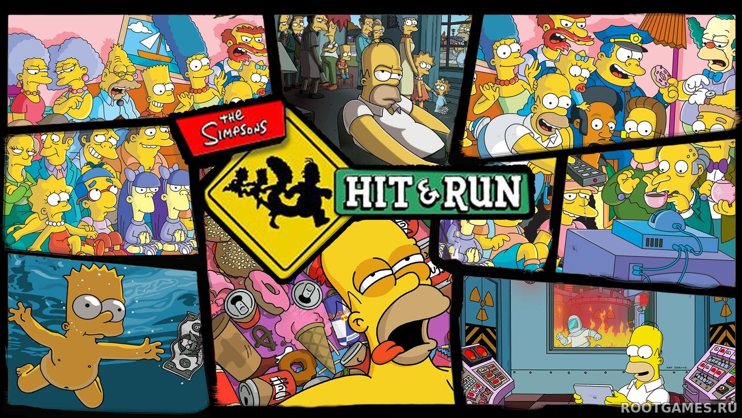HD текстуры Simpsons Hit and Run