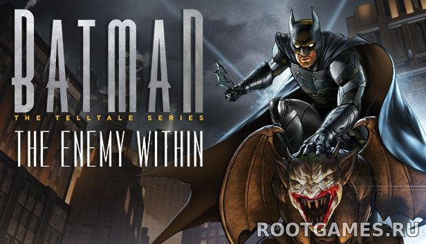Batman The Enemy Within 1 эпизод торрент